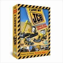 JCB DVD vaikiškas