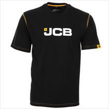 Black T-Shirt - Small, JCB