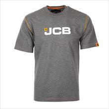 Marškinėliai  pilki, dydis XL, JCB