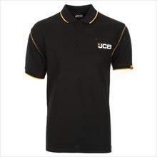 Marškinėliai polo , juodi, dydis S, JCB