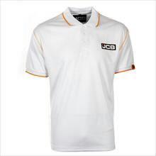 Marškinėliai polo , balti, dydis XXL, JCB