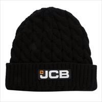 Cable knit beanie hat , JCB