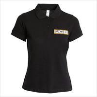 Marškinėliai polo  moteriški, dydis S, JCB