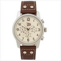 Laikrodis , vyrams, rudu odiniu dirželiu, JCB