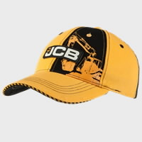Kepurė vaikiška , juoda/geltona size 53cm, JCB
