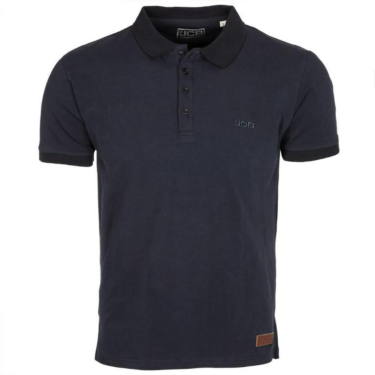 Marškinėliai polo , tamsiai mėlyni, dydis M, JCB