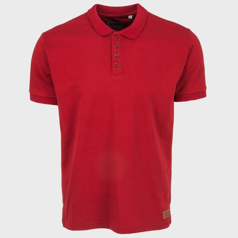 Marškinėliai polo , bordo, dydis M, JCB