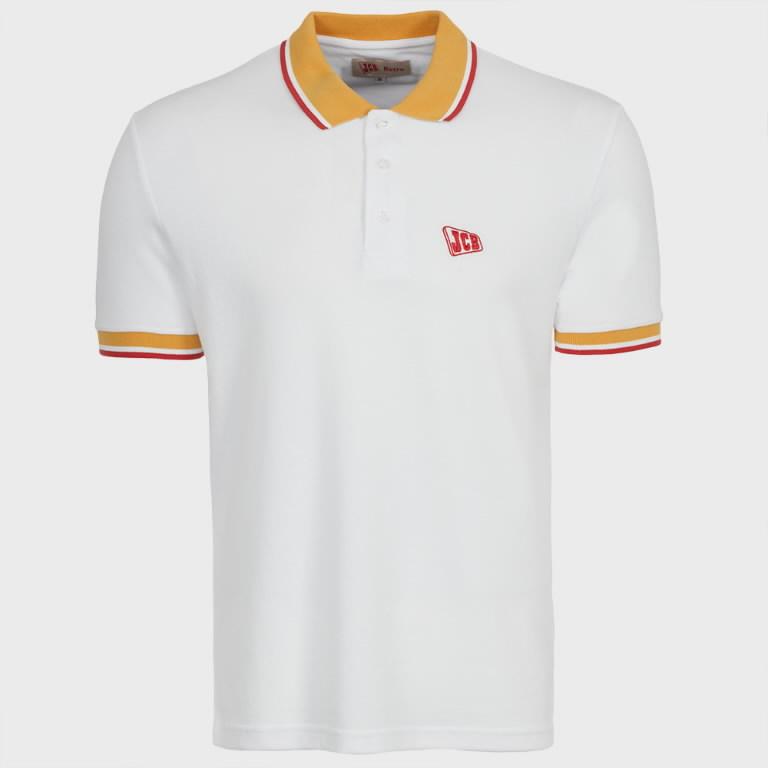 Polo särk  Retro valge, suurus XL, JCB
