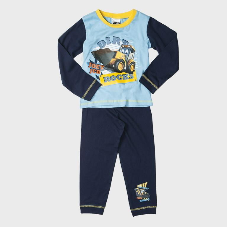 Kids Dirt Rock Pyjamas, Age 2-3 years, JCB