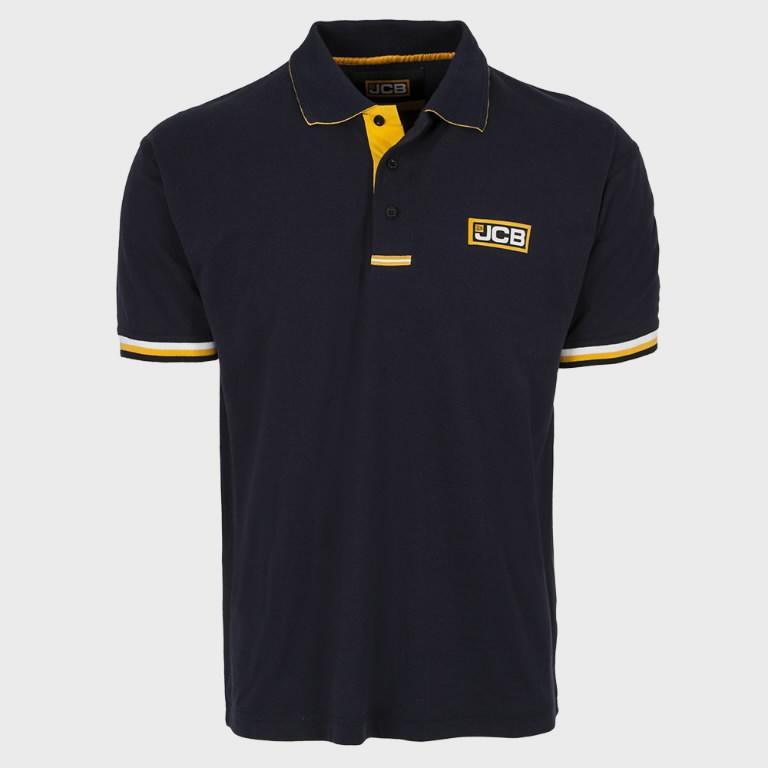 Marškinėliai polo , tamsiai mėlyni, dydis XL, JCB