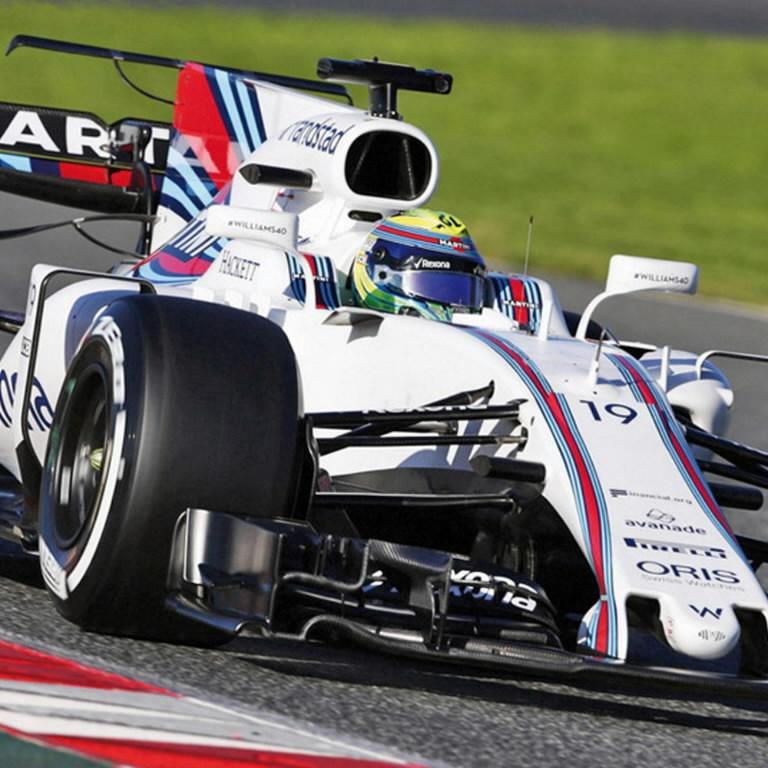 2017 Williams F1 model - Felipe Massa, JCB