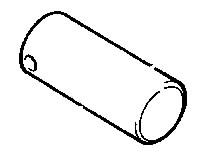 Pirštas hidraulinio cilindro, JCB