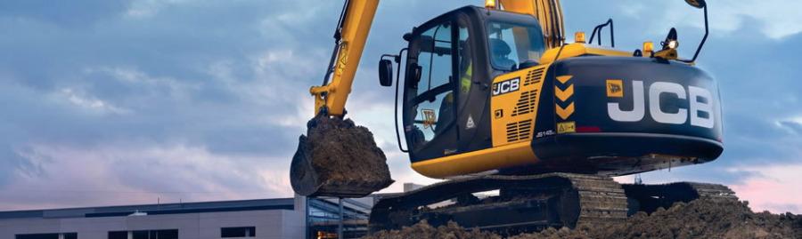 Tracked excavator  JS145, JCB
