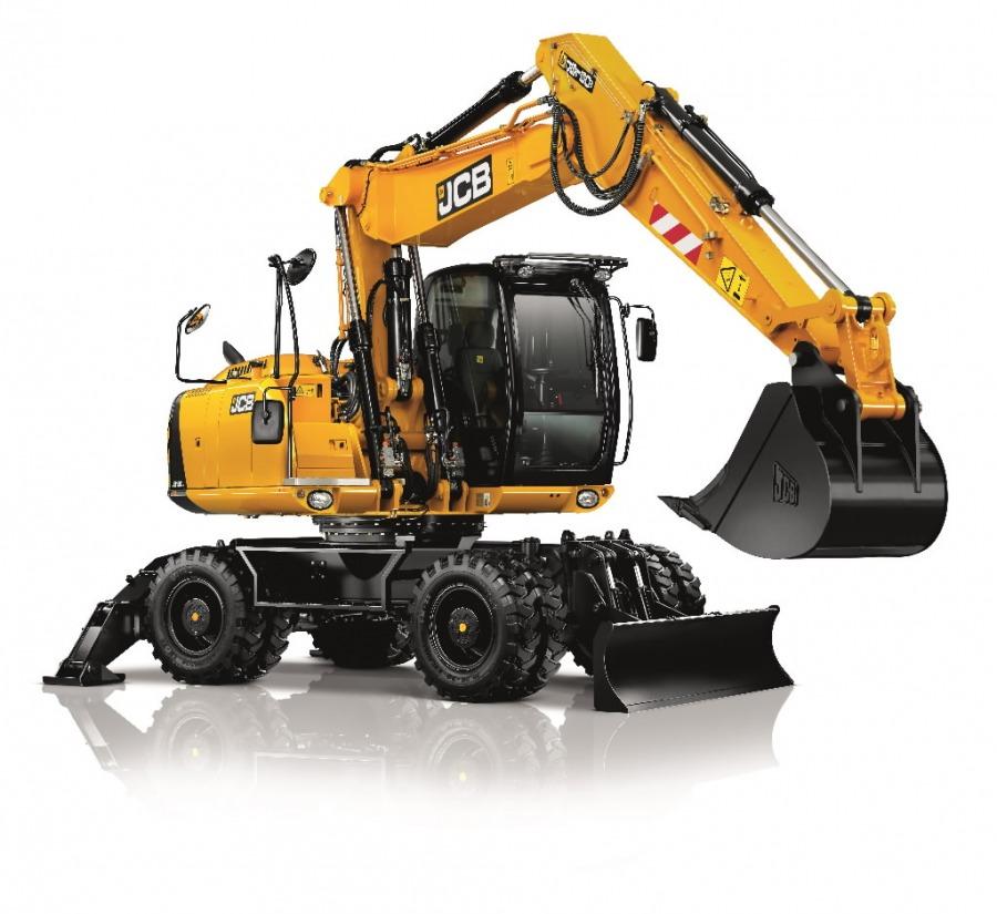 Wheeled excavator  JS160W, JCB