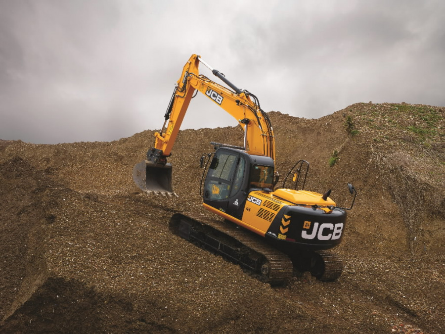Kāpurķēžu ekskavators JCB JS190