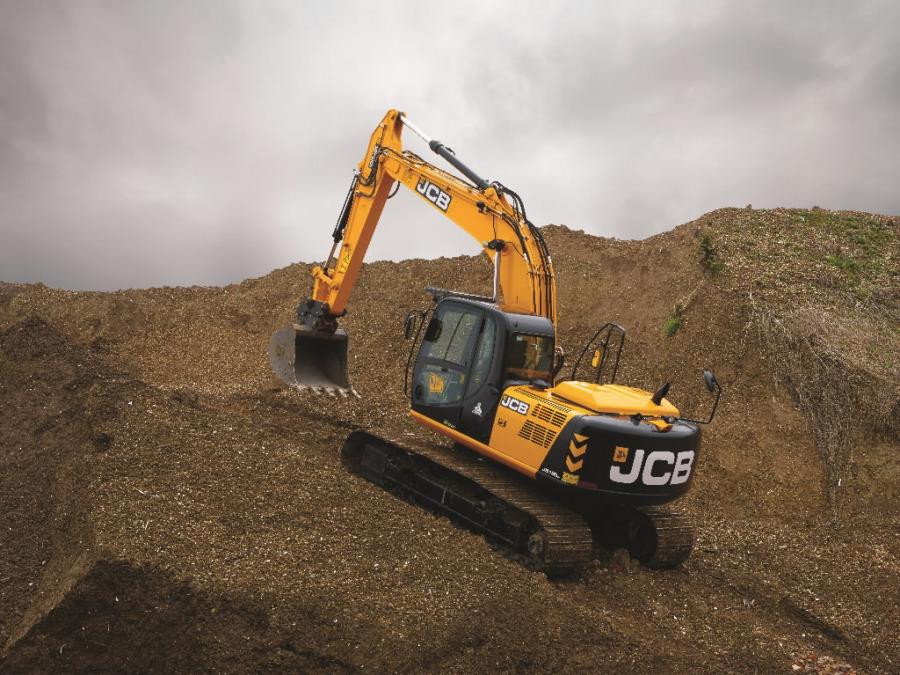 Kāpurķēžu ekskavators  JS190, JCB