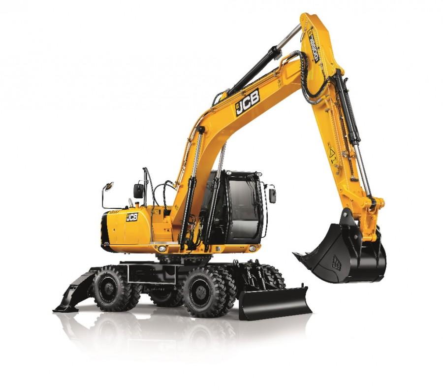 Wheeled excavator  JS200W, JCB