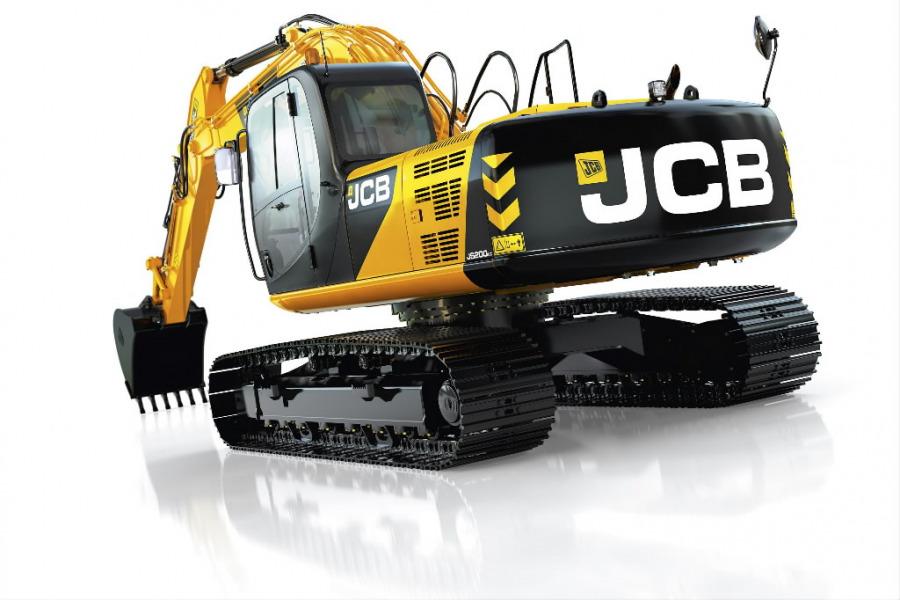 Kāpurķēžu ekskavators  JS210, JCB
