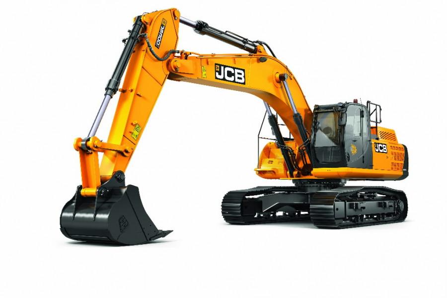 Kāpurķēžu ekskavators  JS300, JCB
