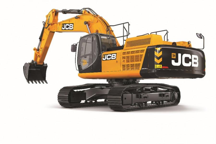 Tracked excavator  JS370, JCB