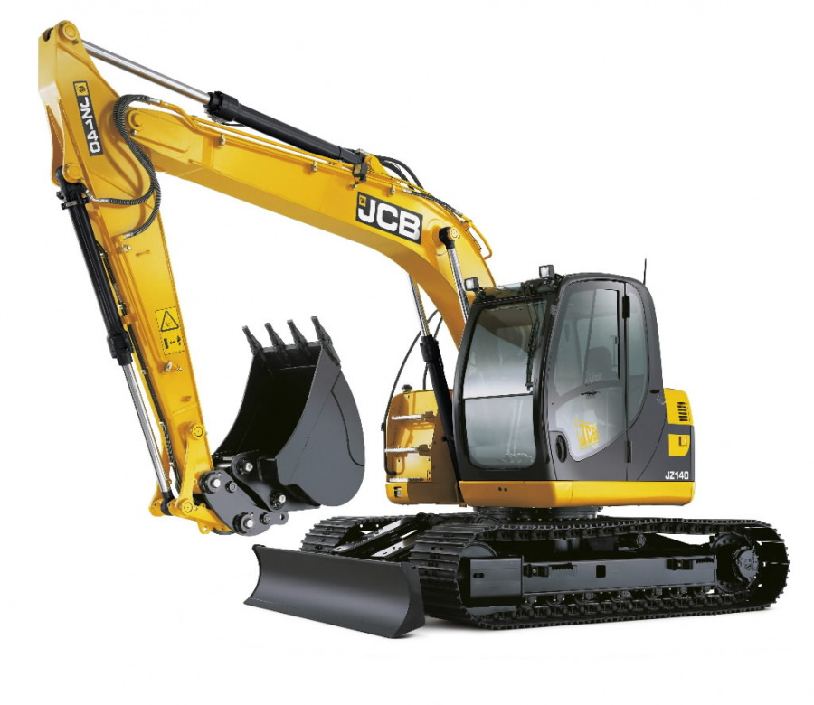 Tracked excavator  JZ140, JCB
