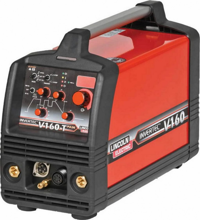 TIG suvirinimo aparatas INVERTEC V160TPulse DC, Lincoln Electric