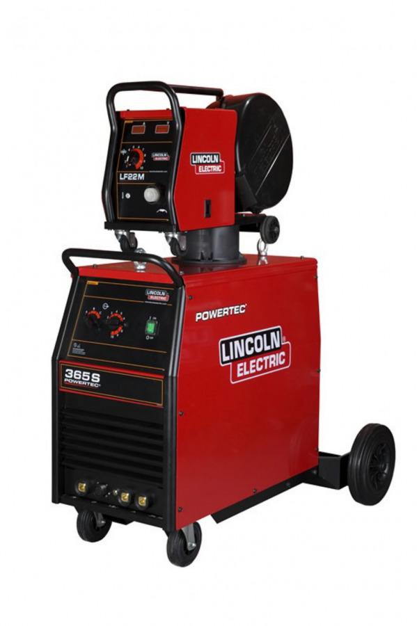 MIG-vooluallikas 350A=40% Powertec 365S õhkj., Lincoln Electric