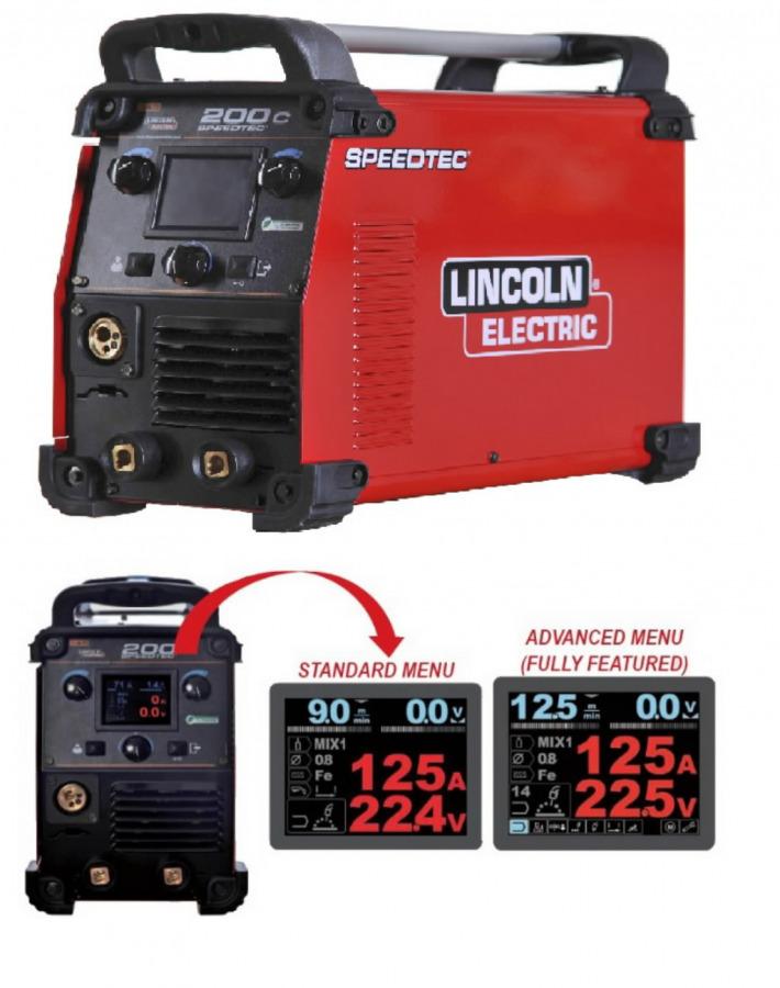 Multifunkcinis suvirinimo pusautomatis Speedtec 200C, Lincoln Electric