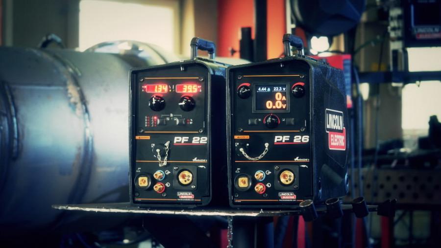 Vielos padavimo įrenginys PF26, Lincoln Electric