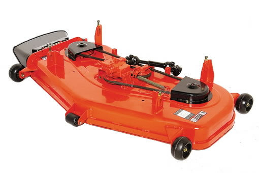 Mower deck 54in/137cm side discharge for F90 series, Kubota