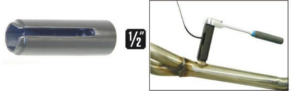 Galvutė 22 mm spec. Lambda zondui, MB, Klann