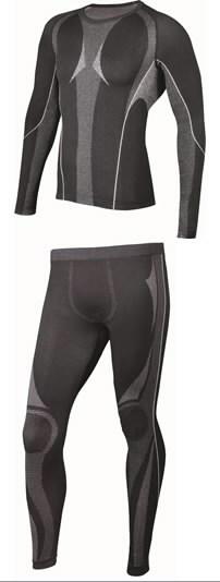 Underwear set Koldy, black, 2XL, Venitex