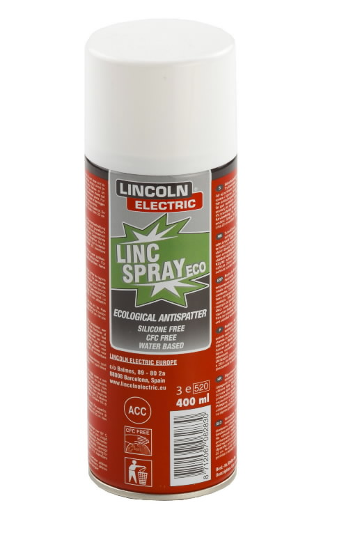 pritsmevastane aerosool 400ml Lincspray Eco, Lincoln Electric