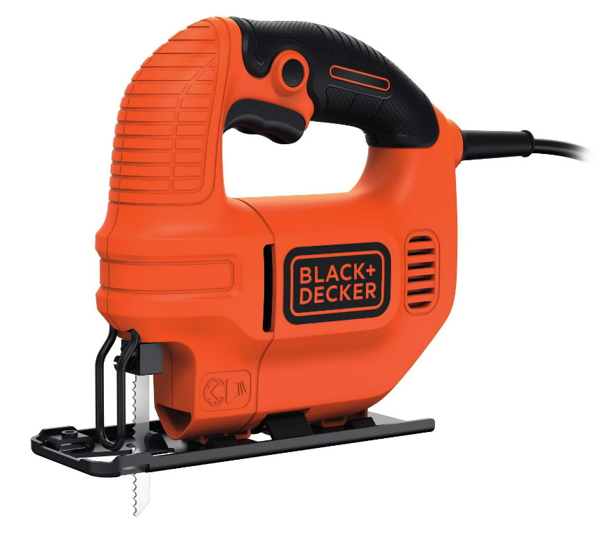 Tikksaag KS501EK / 65 mm / 400W, Black+Decker