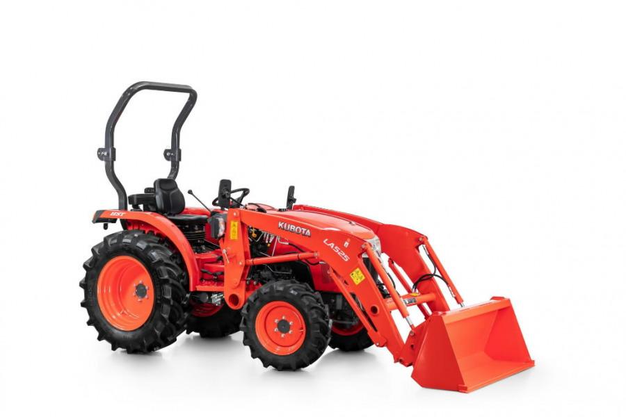 Traktor  L1-382 - HST with front loader LA525, Kubota