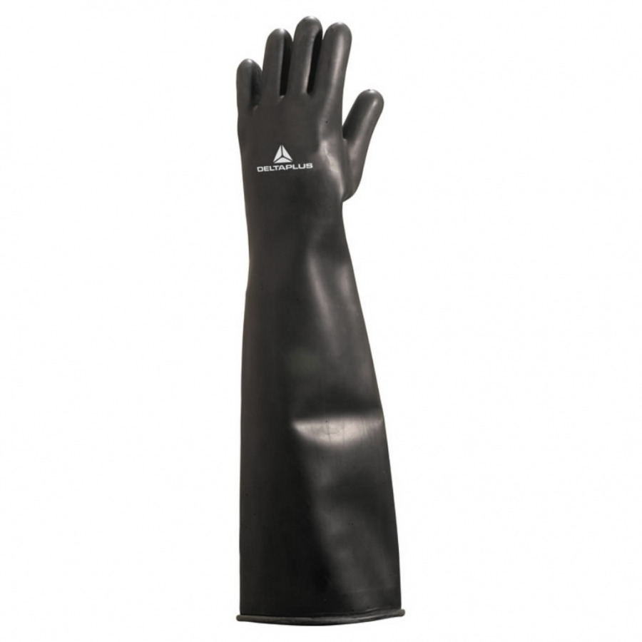 HEAVY WEIGHT LATEX CHLORINATED DIPPED GLOVE - LENGTH 60 CM, Delta Plus