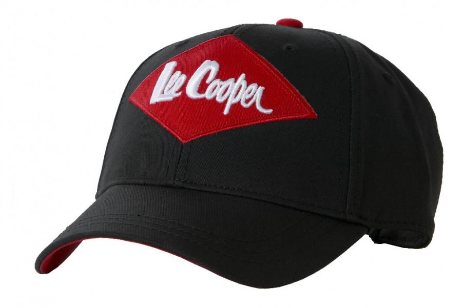 Nokamüts logoga  612, üks suurus, must, Lee Cooper