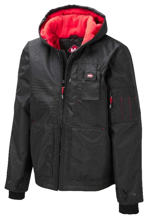 Žieminė striukė  437 juoda, 2XL, Lee Cooper