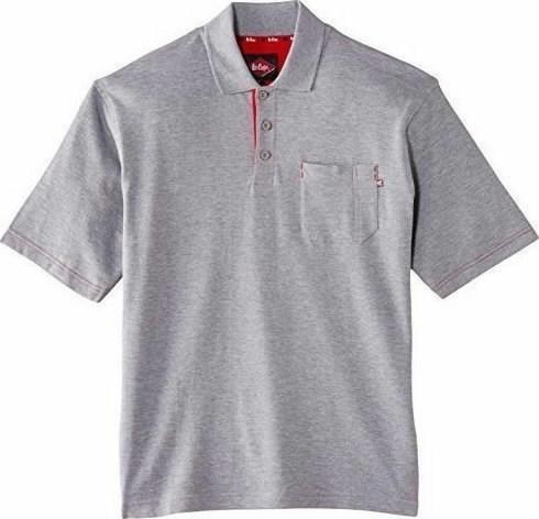 Polo marškinėliai  011 pilka, 2XL, Lee Cooper