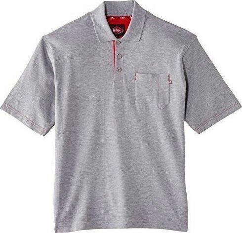 Polo marškinėliai  011 pilka, L, Lee Cooper