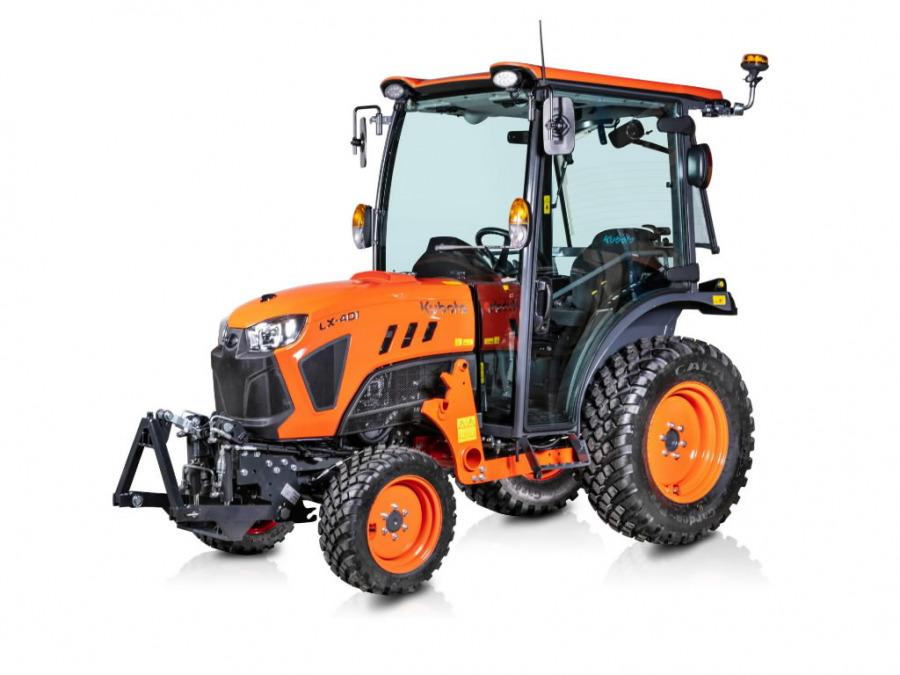 Kompaktiškas traktorius  LX401, Kubota