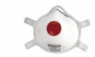 Respiratorius su vožtuvu FFP3, Delta Plus
