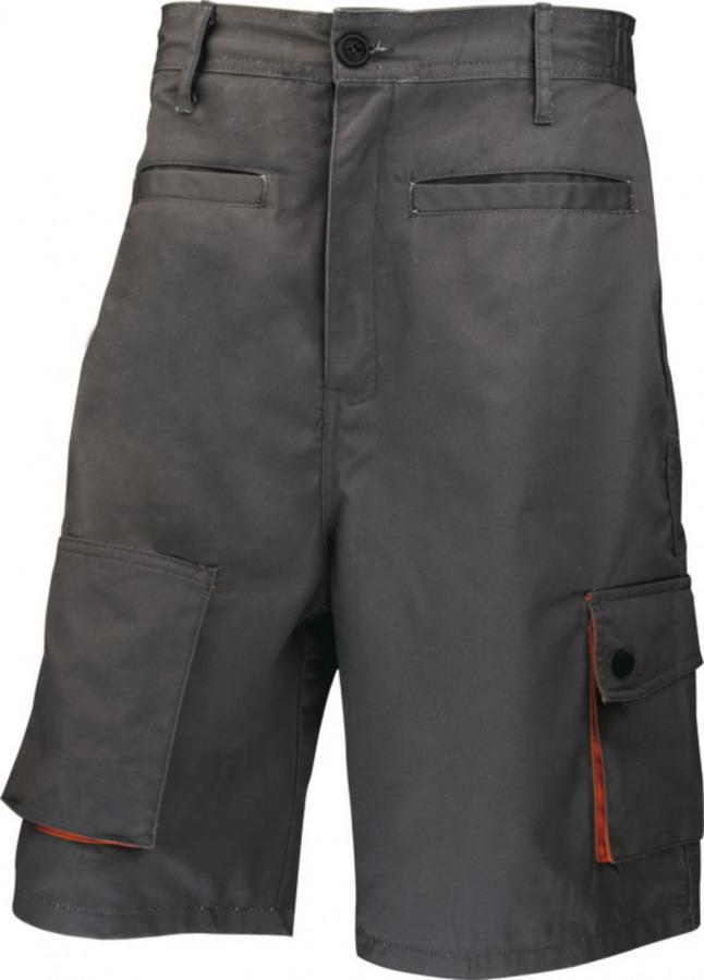 Trousers bermuda M2BER grey/orange 2XL, Venitex