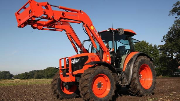 Traktorius  M8560 M60, Kubota