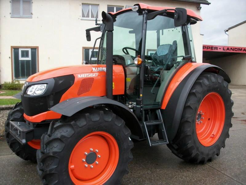 Traktorius  M8560 Campaign no.2, Kubota