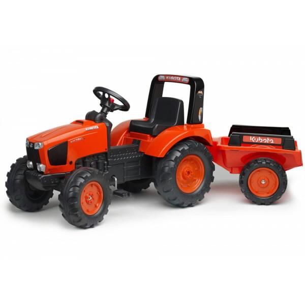 Žaislinis pedalinis traktorius su priekaba 2060AB M135GX, Kubota