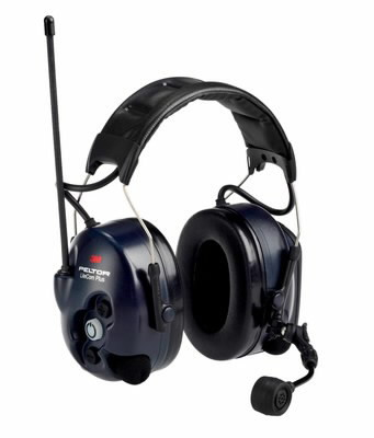 LiteCom Plus PMR 446, ausinės su galvos lankeliu XH001680467, 3M