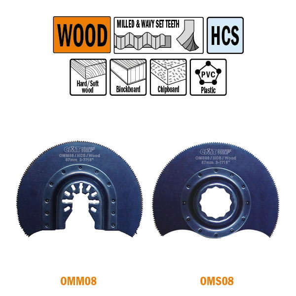 87mm Radial Saw blade for Wood, CMT