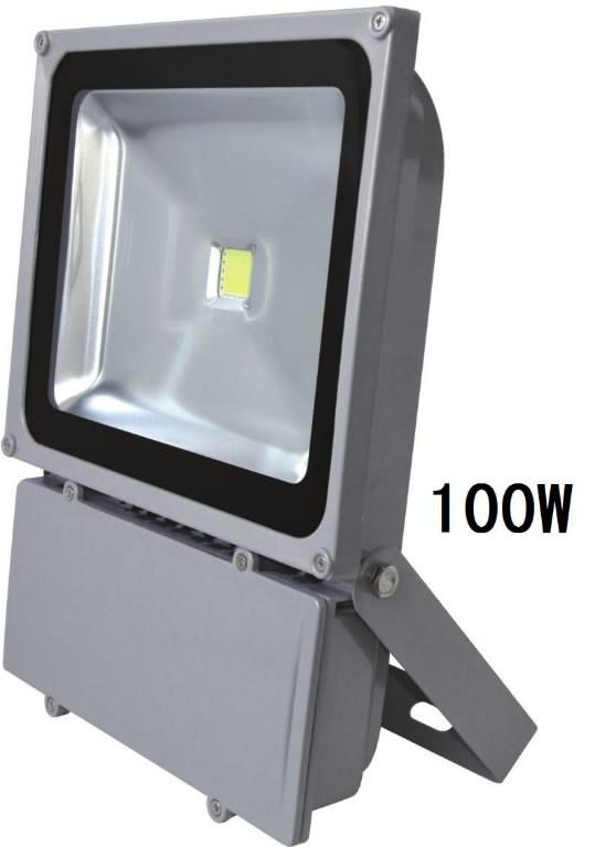LED prožektor seinakinnitusega 100W IP66, SLED