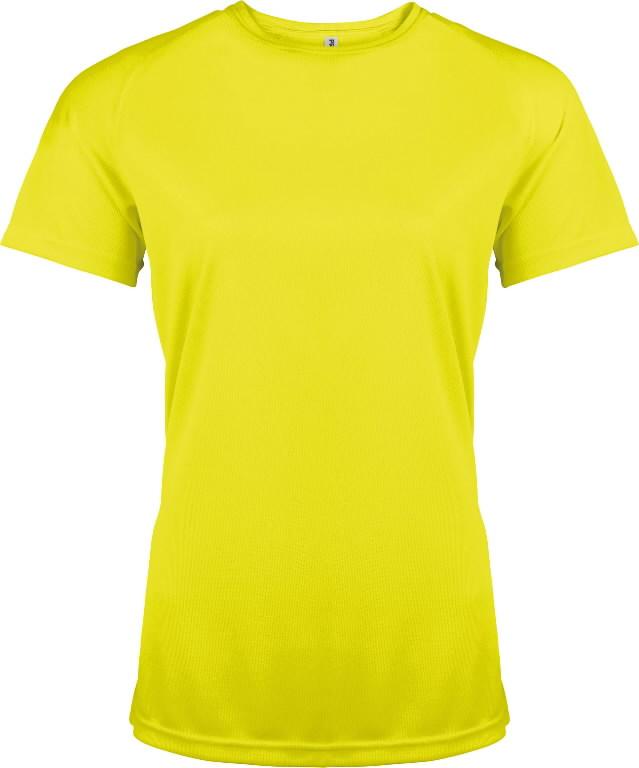 Kõrgnähtav särk Proact naistele kollane